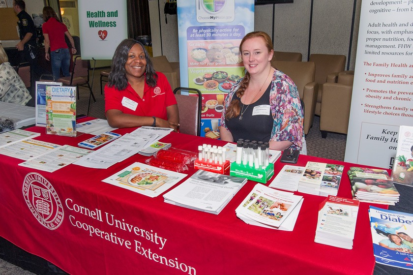 CCE-Suffolk County participating in Brookhaven Lab's Safety & Health Wellness Expo
