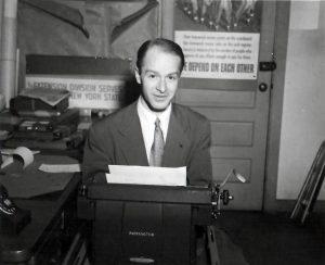 Harold in the ILR School in 1952