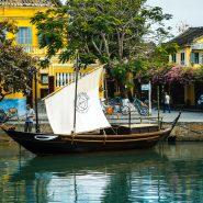 traditional Vietnamese sailboat