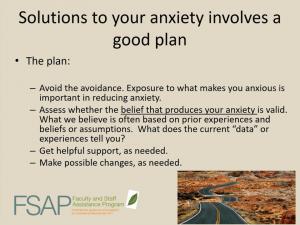 """A good plan"" slide from FSAP presentation"