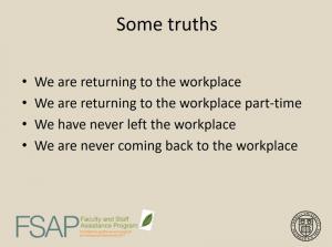 """""""Some truths"""" slide from FSAP webinar"""