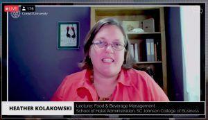 Screenshot of Heather Kolakowski '00