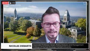 Screenshot of Nicolas Ziebarth