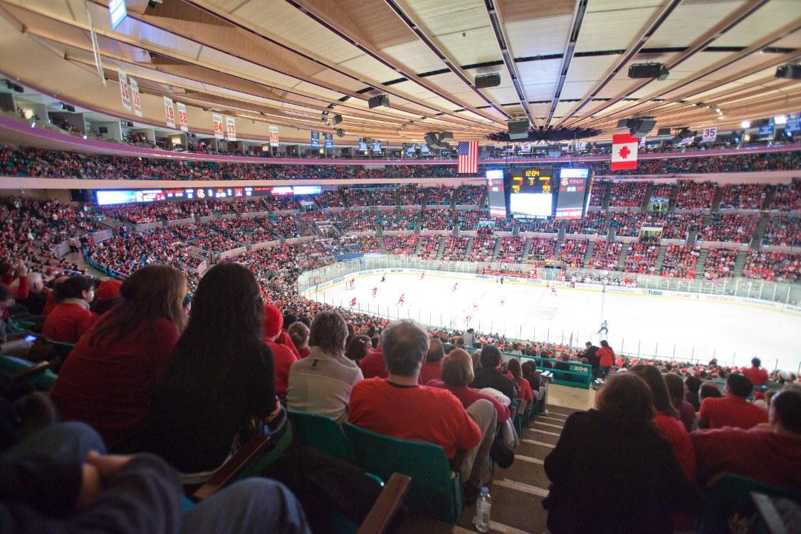 2009 MSG hockey game