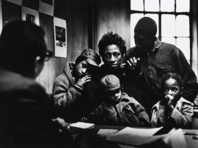 The Fontenelles at the Poverty Board, Harlem, New York, 1967