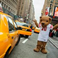 Touchdown in NYC