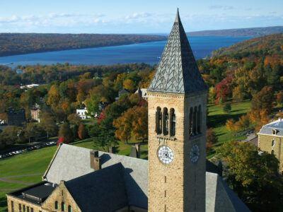 Cornell Campus overlooking Cayuga Lake